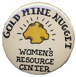 Gold Mine Nugget button