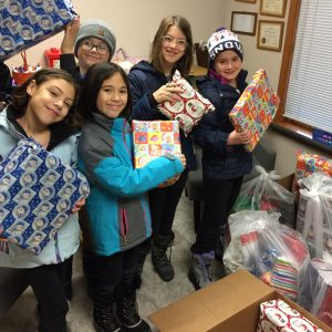 Montessori Christmas Families Donation