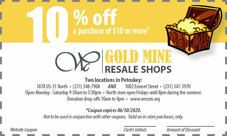 Gold Mine Web Coupon expires 06302020