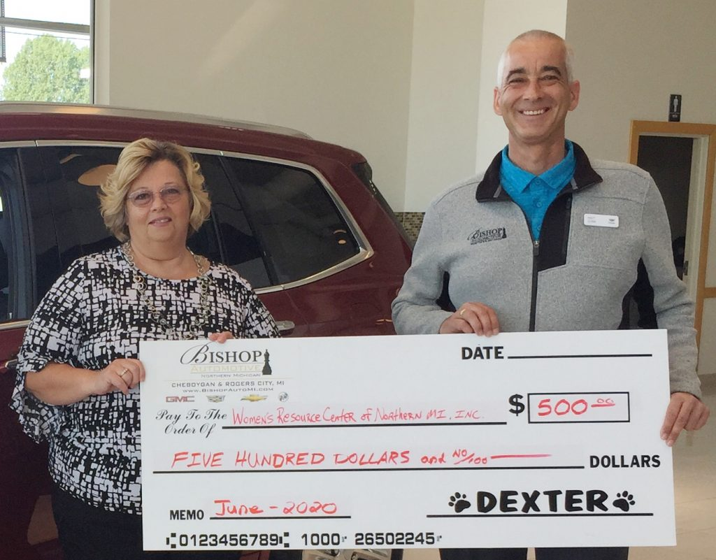 Bishop Cadillac donation June 2020