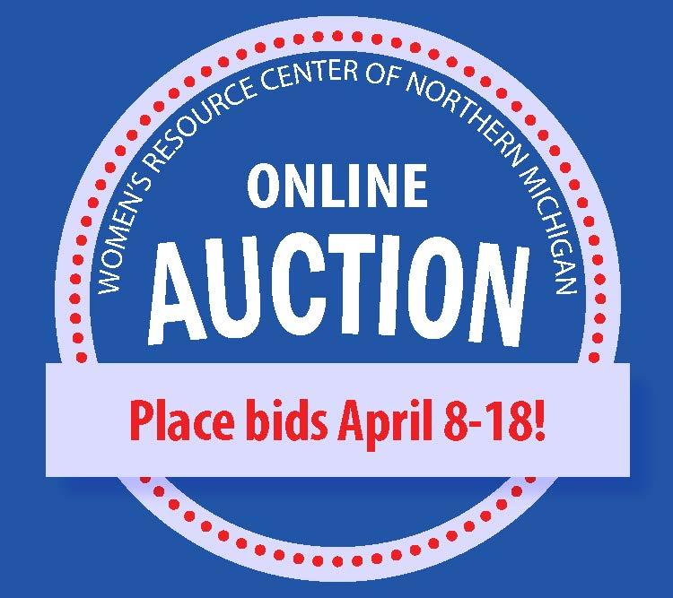 Online auction bid april 8 18 logo from PDF