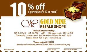 Gold Mine Web Coupon expires 09.30.21 3