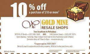 Gold Mine Web Coupon expires 10.31.21